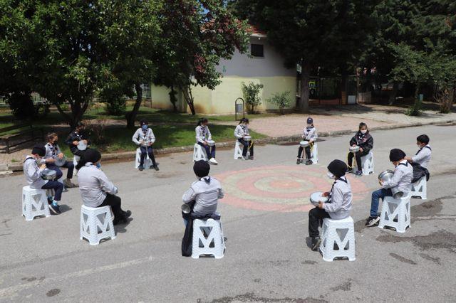 Samsun'da eğitimlerini tamamlayan 13 aday izci yemin etti