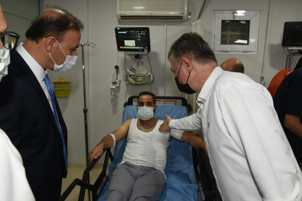 Şanlıurfa'da polislere ateş açıldı: 2 yaralı (2)