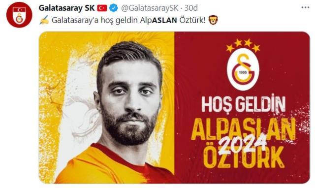 Son Dakika: Galatasaray, Alpaslan Öztürk ve Aytaç Kara'yla 3 yıllık sözleşme imzaladı