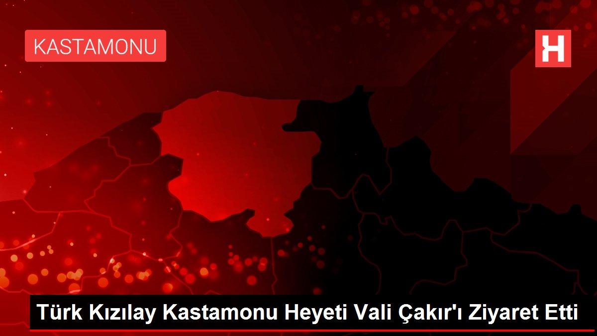 Türk Kızılay Kastamonu Heyeti Vali Çakır'ı Ziyaret Etti