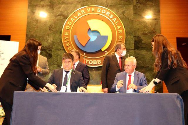 Türkiye ile Kırgız Cumhuriyeti arasında Arıcılık İş Birliği Protokolü imzalandı