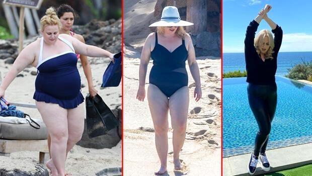 Ünlü oyuncu, yorucu egzersizler yapmadan hiç aç kalmadan bir yılda 30 kilo verdi