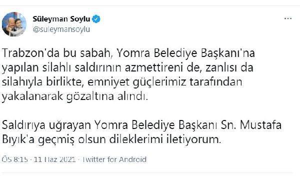 Yomra Belediye Başkanı Bıyık'a silahlı saldırı (3)