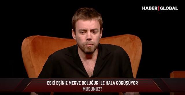 Murat Dalkılıç, kendisiyle ilgili soruya cevap vermeyen Merve Boluğur'a karşılık verdi