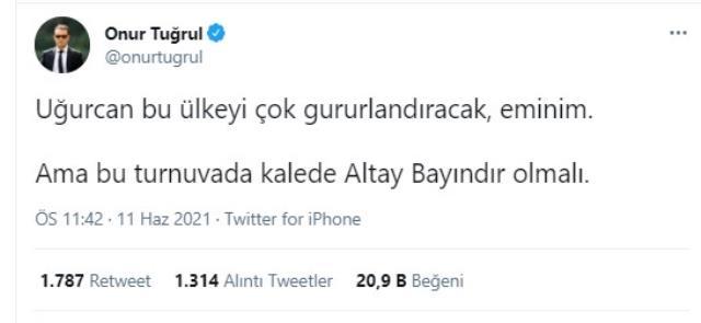 Türk futbolunda kriz bitmiyor! 'Altay mı, Uğurcan mı? tartışması herkesi birbirine düşürdü