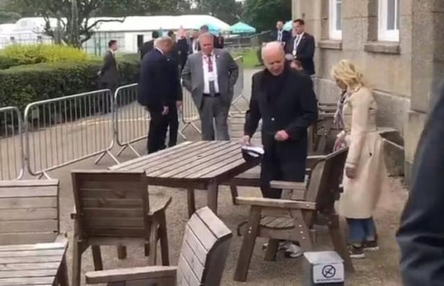 ABD Başkanı Biden, gazetecileri oturduğu masadan kovdurdu