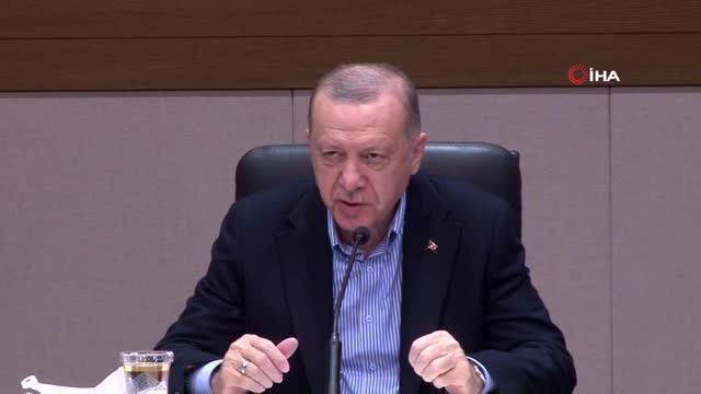 Cumhurbaşkanı Erdoğan: 'Hastaneye yapılan terör saldırısı PKK YPG'nin nasıl kalleş ve vahşi bir örgüt olduğunu göstermiştir'