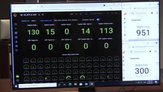 ESKİŞEHİR - Anadolu Üniversitesi yazılımcılarının geliştirdiği çevrim içi eğitim sistemiyle veriler güvende