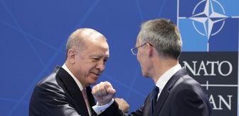 Özgürlük: Cumhurbaşkanı Erdoğan, Stoltenberg tarafından resmi olarak karşılandı