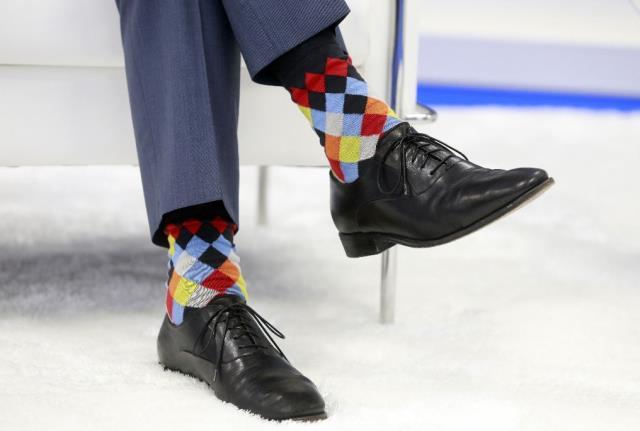 Kanada Başbakanı Justin Trudeau'nun renkli çorapları NATO Zirvesi'ne damgasını vurdu