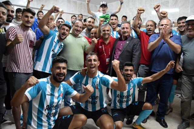 Viranşehir Belediyespor, Elbistanspor'u 5 0 yendi