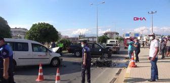 Polis: ANTALYA SERİK'TE KAZA: 2 YARALI