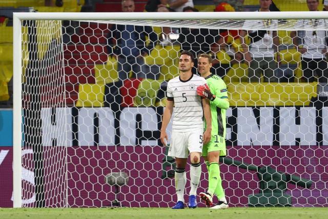 Hummels, Almanya'nın turnuva tarihinde kendi kalesine attığı ilk golü kaydetti