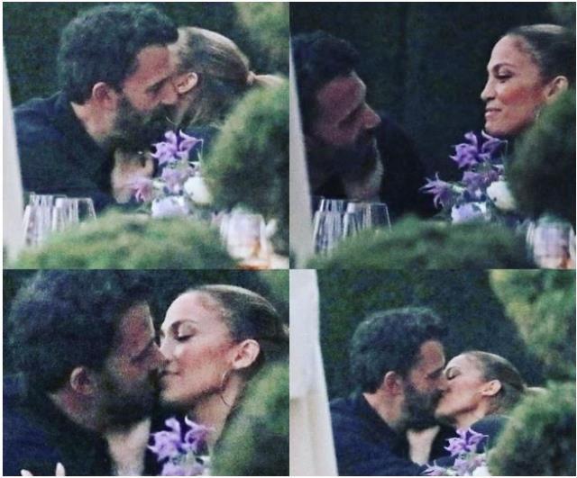 Jennifer Lopez ve Ben Affleck 17 yıl sonra yeniden dudak dudağa