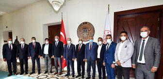 Kıbrıs: Kıbrıs Türk Belediyeler Birliği Heyetini Misafir Ettik