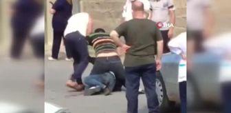 Polis: Son dakika haber! Yaralı doktor ile saldırgan arasındaki boğuşma anı kamerada