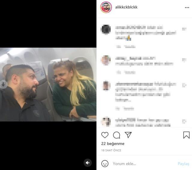 Başka bir kadınla yakalanan Ali Küçükbalçık, eşi Kibariye'ye aşk dolu pozunu paylaştı