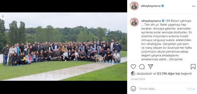 Başrol oyuncusu Oktay Kaynarca'dan sezon finali yapan Eşkıya Dünyaya Hükümdar Olmaz için veda mesajı yayınladı