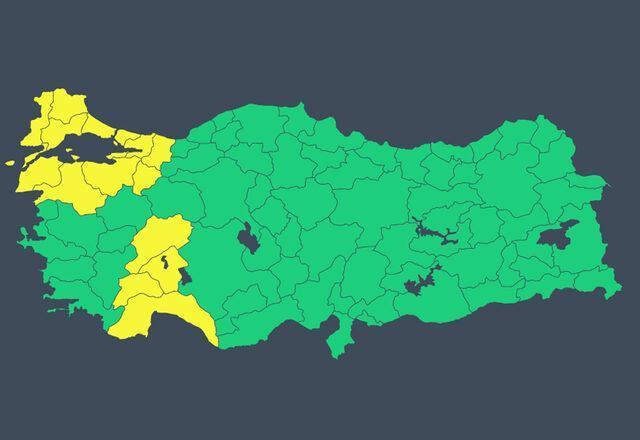 Şemsiyeleri hazırlayın! Meteoroloji'den İstanbul dahil 15 ile sarı kodlu uyarı