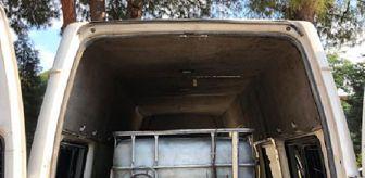 Sarayköy: Denizli'de 2 bin litre kaçak akaryakıt ele geçirildi