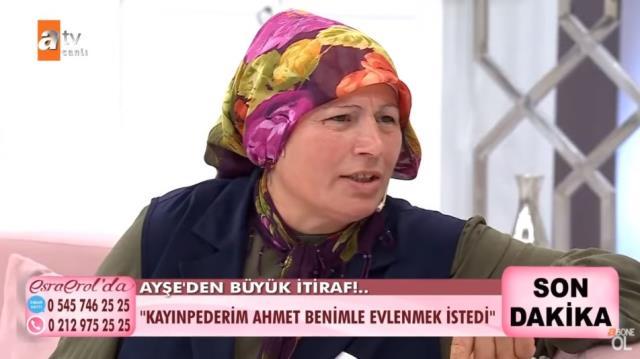 Esra Erol'da cinayeti itiraf eden kadından bir bomba daha: Eşim ölünce kayınpederim benimle evlenmek istedi
