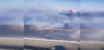 Tanker: Son dakika haberleri! Güney Kıbrıs'ta yangın: 300 hektar orman zarar gördü