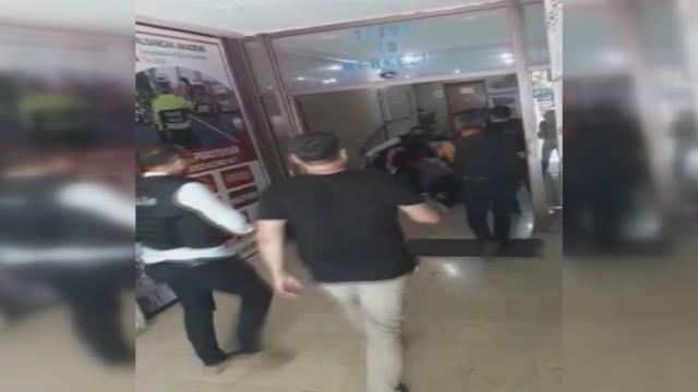 HDP binasına girerek bir kadını öldüren saldırganın yakalanma anı ortaya çıktı