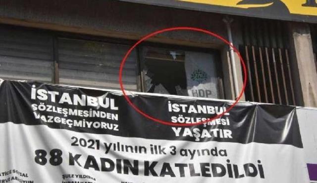 HDP il binasına silahlı baskın! 1 kişi yaşamını yitirdi, bölge abluka altında