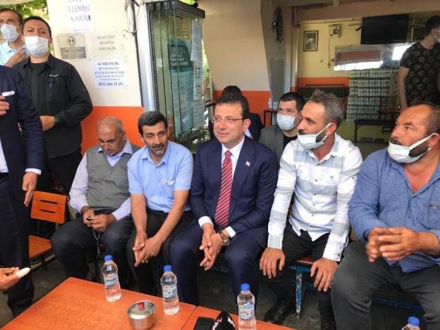 Malatya'da İBB Başkanı İmamoğlu'na yoğun ilgi! Karşılama töreni mitinge dönüştü