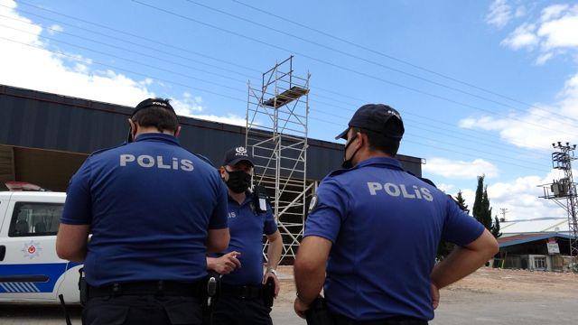 Tokat'ta 3 işçi elektrik akımına kapıldı 3