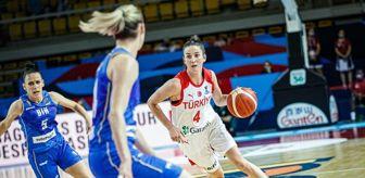 A Milli Kadın Basketbol Takımı: 2021 FIBA Avrupa Şampiyonası: Türkiye: 54 - Bosna Hersek: 64