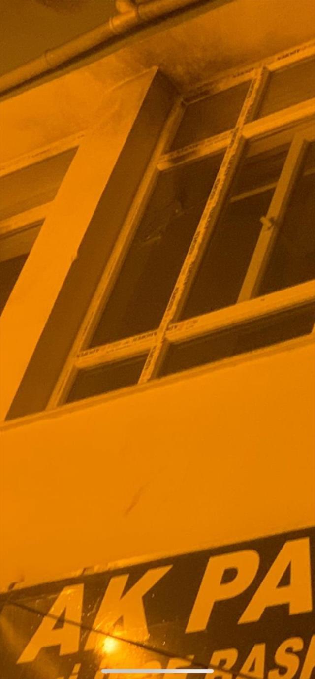 AK Parti Hani İlçe Başkanlığı'na yapılan molotof kokteylli saldırıya tepki yağıyor