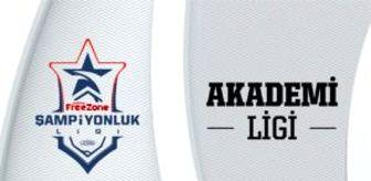 Akademi Ligi 2. hafta 2. gün karşılaşmaları başlıyor!