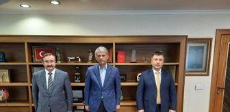 Alparslan: Son dakika haber   Bakan Yardımcısı Alparslan'a çalışma ziyareti