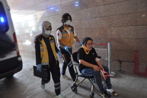 Gaziantep'te, kına gecesine gidenlerin bulunduğu araç devrildi: 10 yaralı