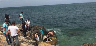 Liman: Son dakika haberleri: Selfie çekerken denize düştü, vatandaşlar kurtardı