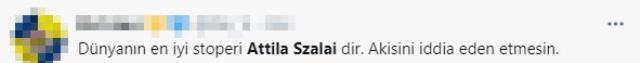 Atilla Szalai, Fransa karşısında gösterdiği performansla gündeme oturdu