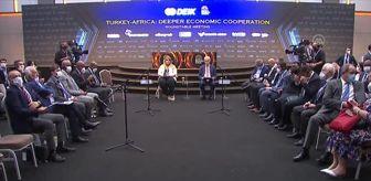 Somali: DEİK Başkanı Olpak, Antalya Diplomasi Forumu'nda konuştu