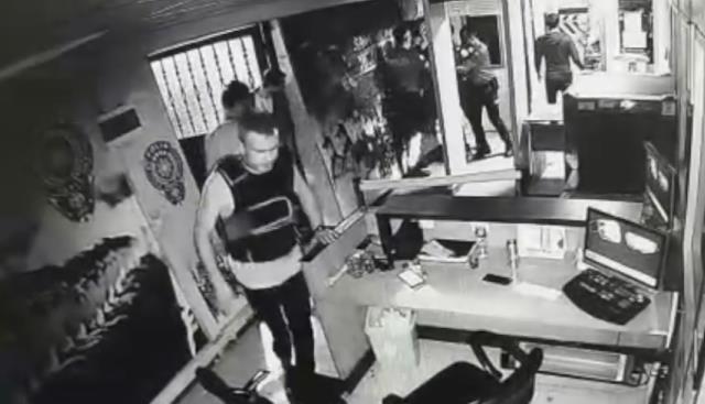 Esenyurt Polis Merkezi'nde şüpheli bir şekilde ölen güvenlik amiri Birol Yıldırım'ın son görüntüleri ortaya çıktı