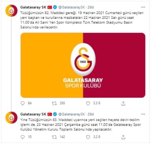 Galatasaray'da yeni Başkan Burak Elmas, yarın mazbatasını alıyor
