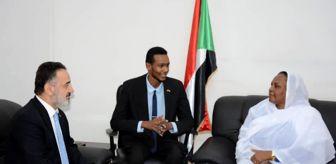 Hartum: Türkiye'nin Hartum Büyükelçisi Neziroğlu, Sudan Çalışma ve İdari Reform Bakanı Nurani ile görüştü
