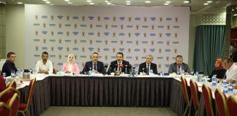 Kenan Sofuoğlu: AK Parti Sakarya milletvekilleri basınla bir araya geldi