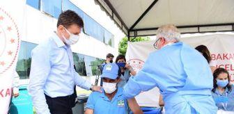 Zabıta Müdürlüğü: Bahçelievler'de seyyar aşılama istasyonu kuruldu