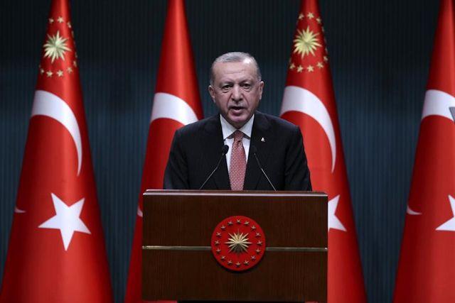 Cumhurbaşkanı Recep Tayyip Erdoğan Cumhurbaşkanlığı Kabine Toplantısı'nın Ardından Açıklamalarda Bulundu