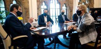 Tatar: Son dakika haberi... KKTC Cumhurbaşkanı Tatar, BM Genel Sekreterinin Özel Danışmanı Lute'yi kabul etti