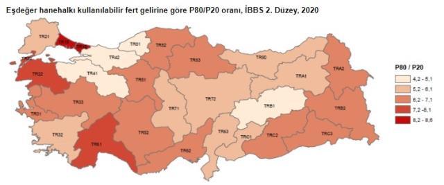 TÜİK merak edilen araştırmanın sonuçlarını açıkladı! Gelir seviyesi en yüksek olan il İstanbul
