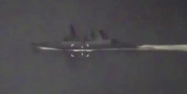 Rusya, İngiliz savaş gemisinin görüntülerini yayınlandı