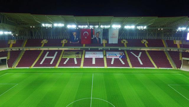 142 milyon TL'ye mal olan Hatay stadı, yarın Cumhurbaşkanı Erdoğan'ın katılımıyla açılıyor