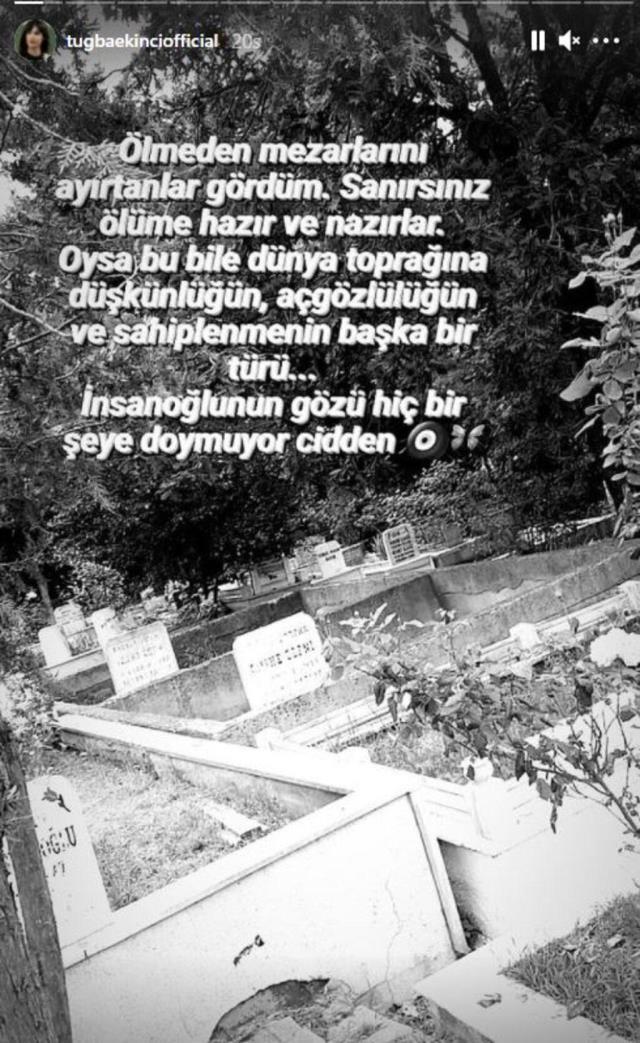 Mezar yeri alanlara sitem eden Tuğba Ekinci, hemen ardından bikinili pozunu paylaştı