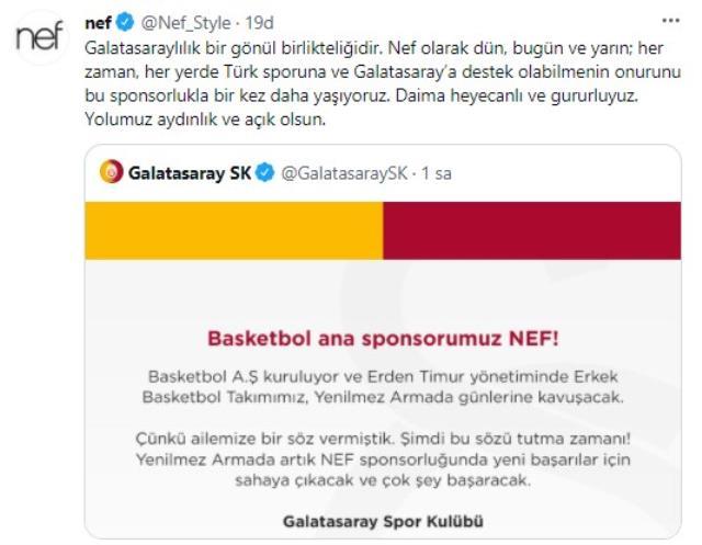 Galatasaray'dan basketbolda dev hamle! Basketbol AŞ kurularak yönetimi Erden Timur'a verildi